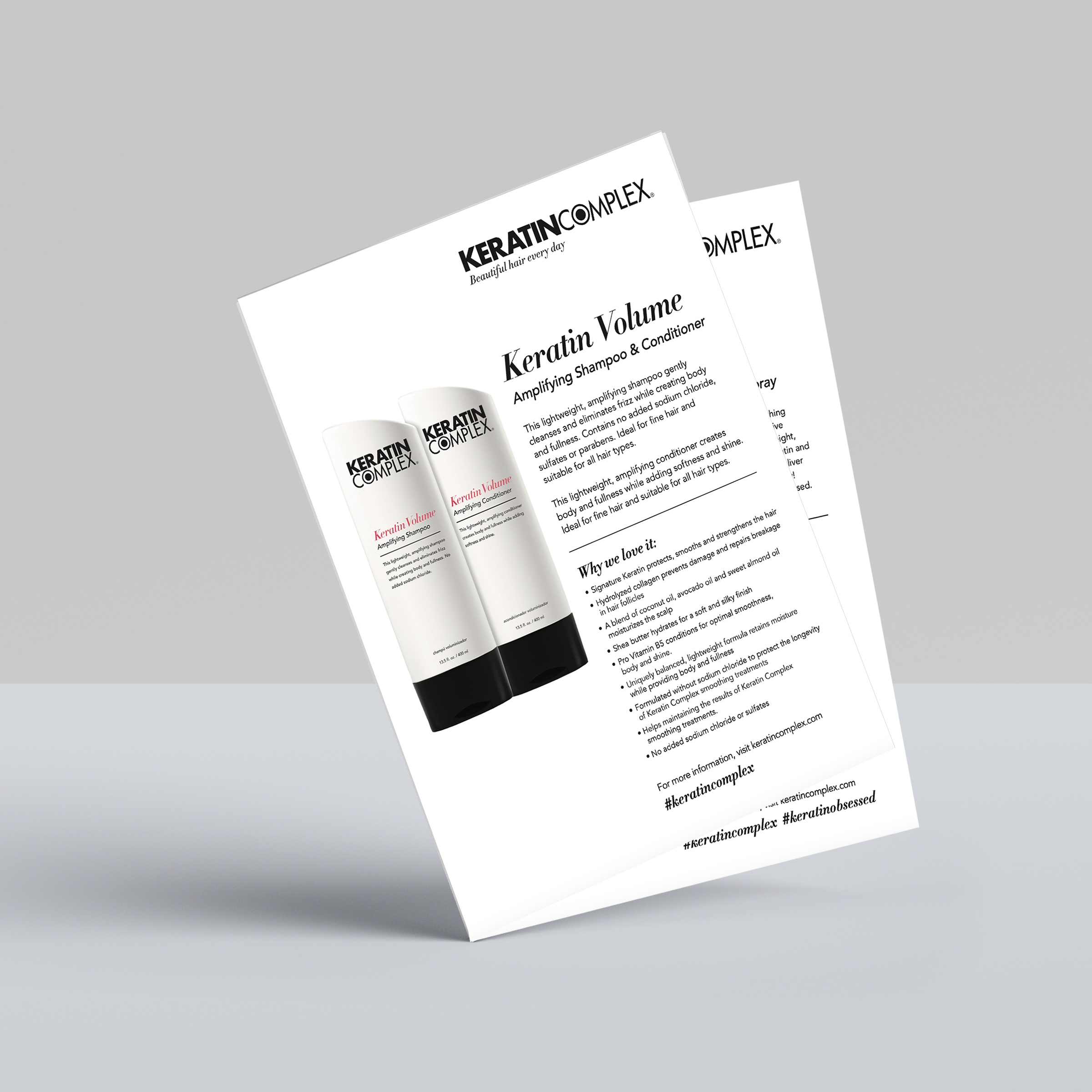 Consumer Product Info Sheets