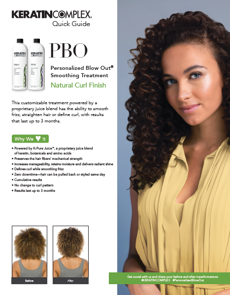 PBO Natural Curl Finish Quick Guide