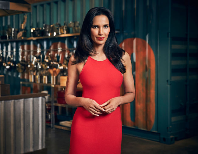 Padma Lakshmi on Top Chef Tommy Garcia/Bravo/NBCU Photo Bank via Getty Images.
